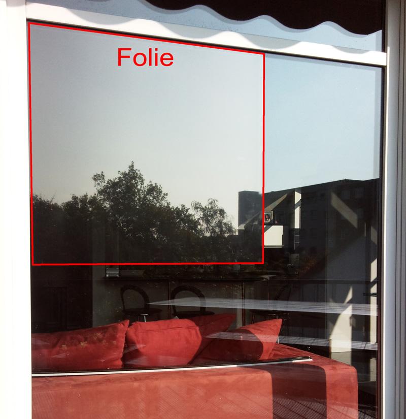 sonnenschutzfolie neutral 165 sr innen mittel 0 76m x 1m. Black Bedroom Furniture Sets. Home Design Ideas